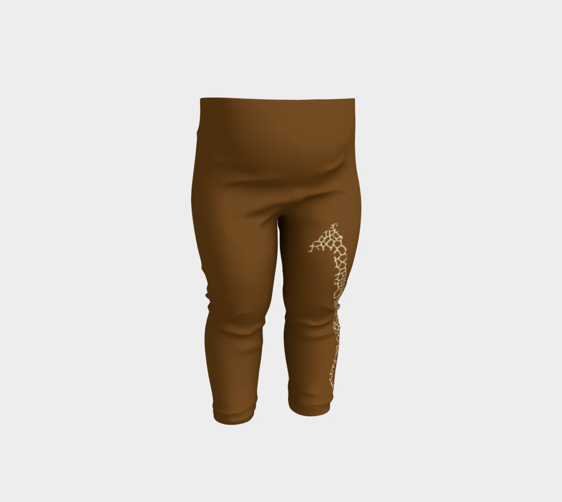 Baby and kid Giraffe Safari Leggings preview #1
