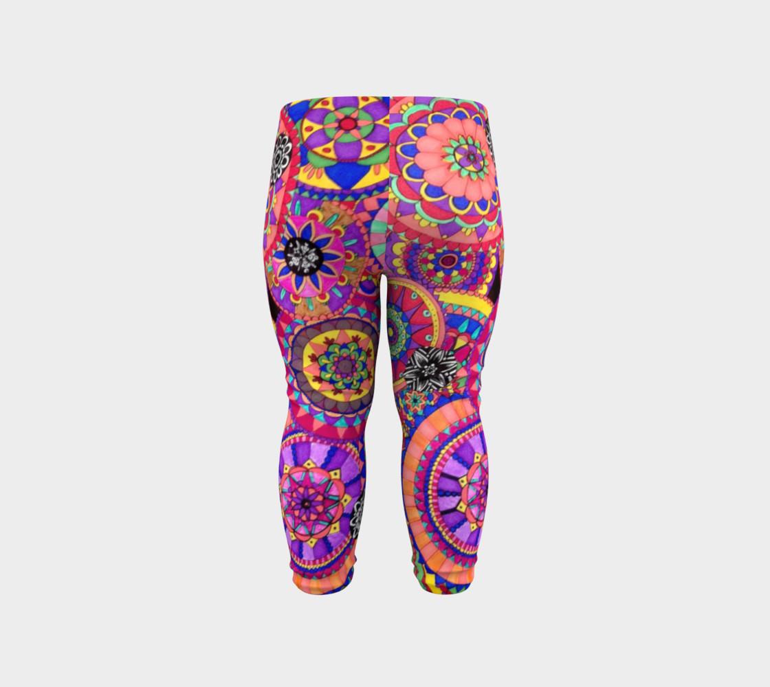 Happy Mandalas Childrens Leggings preview #6