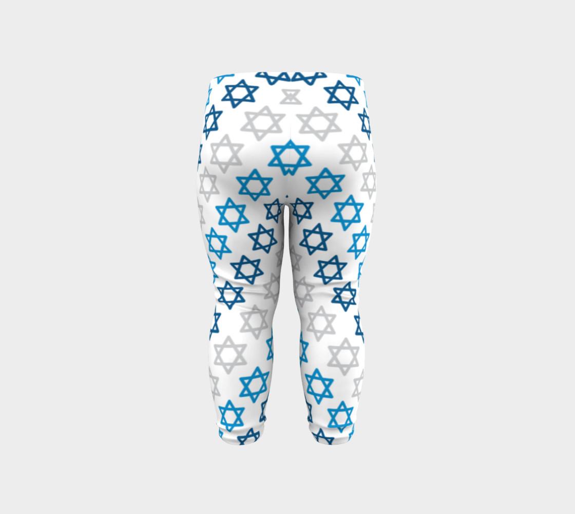 Aperçu de Star of David Hanukkah Leggings #6