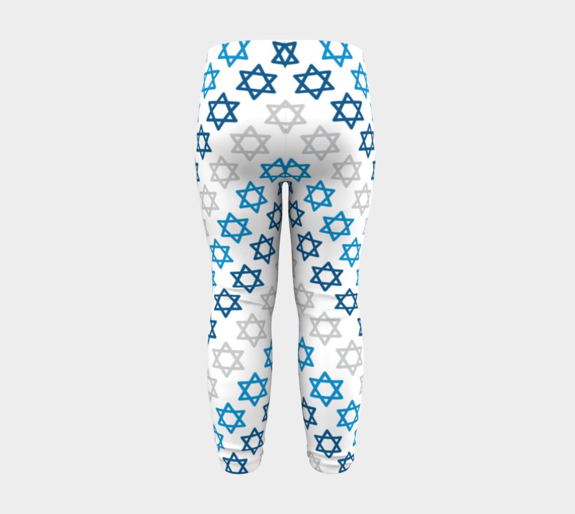 Aperçu de Star of David Hanukkah Leggings #8