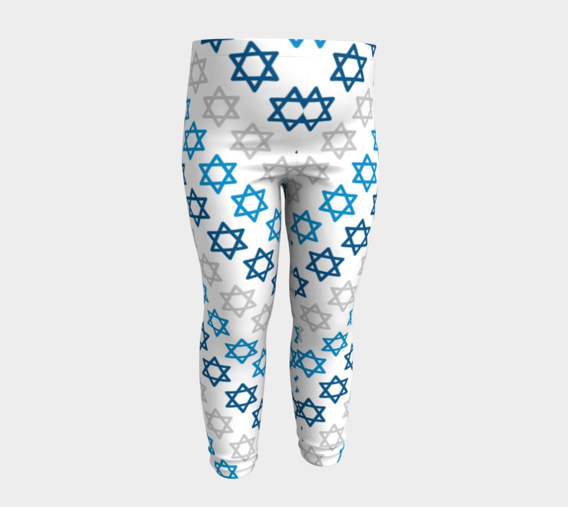 Aperçu de Star of David Hanukkah Leggings #4