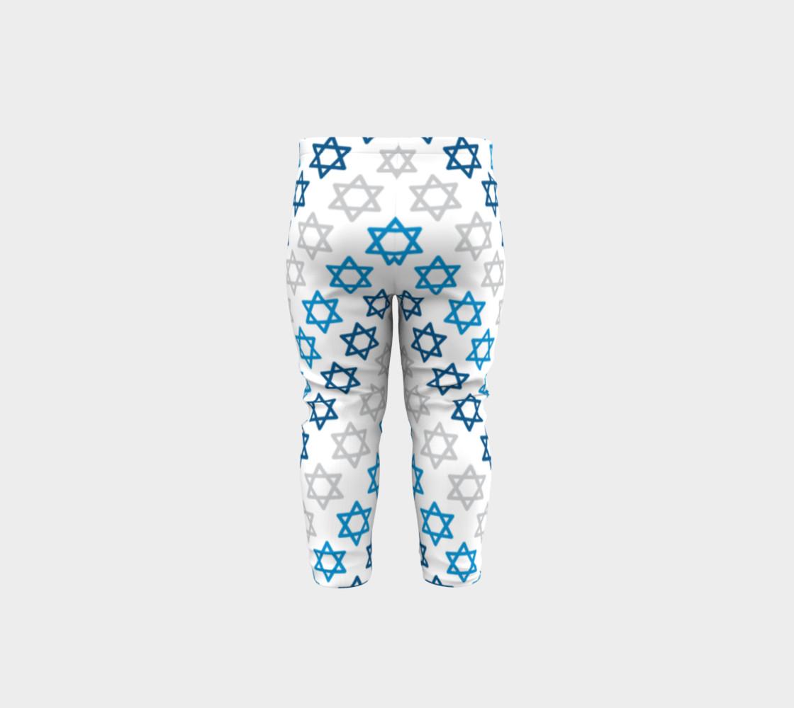 Aperçu de Star of David Hanukkah Leggings #5