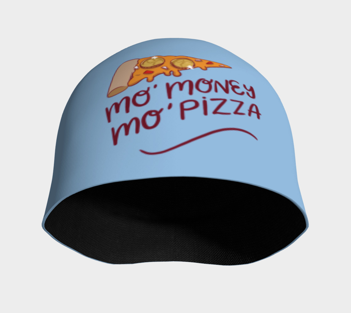 Mo' Money Mo' Pizza Beanie preview #3