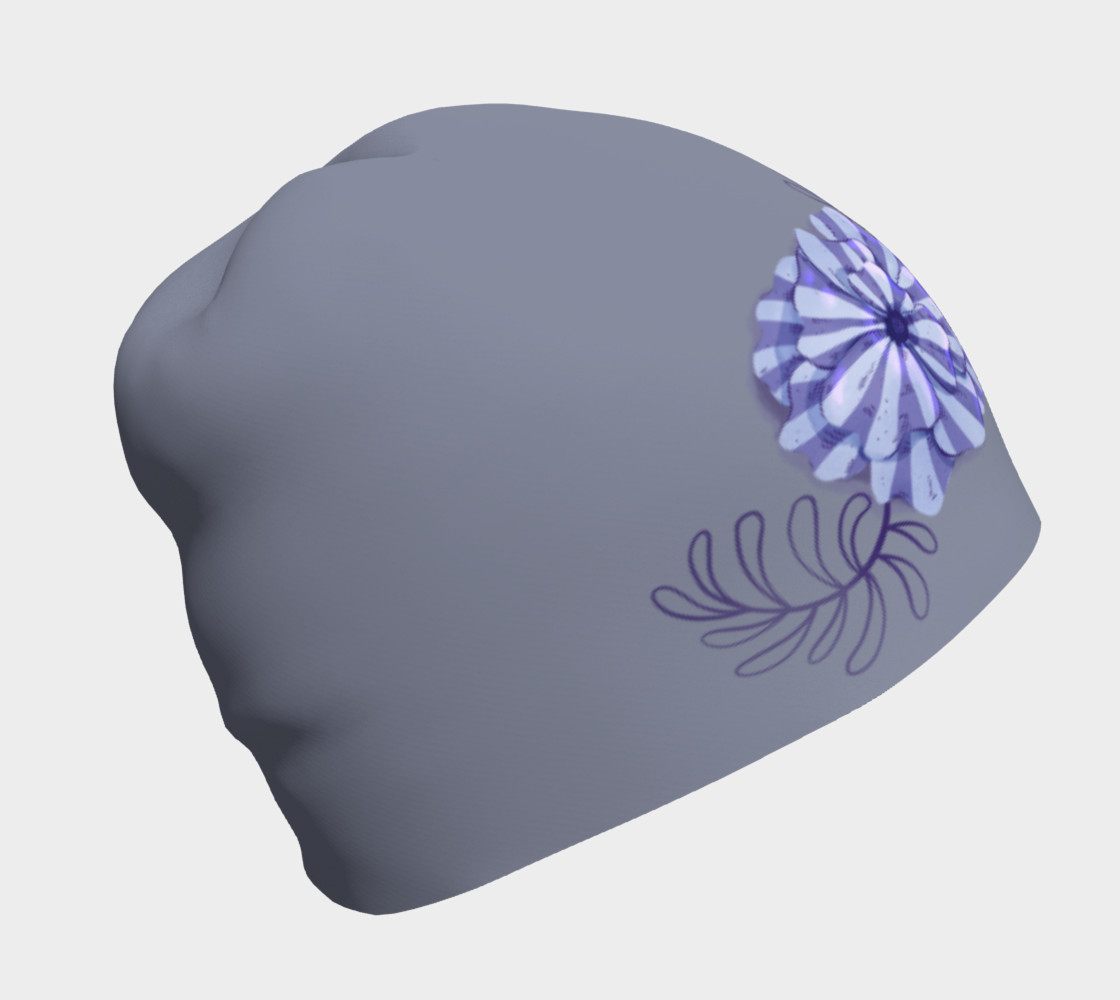 Floral Accented Beanie preview #1