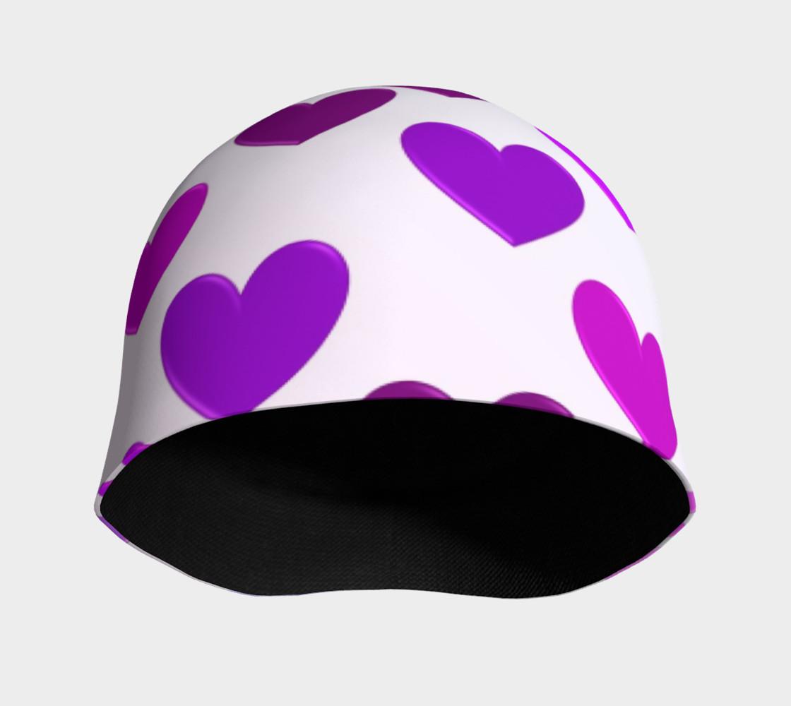 Purple Hearts Beanie preview #3