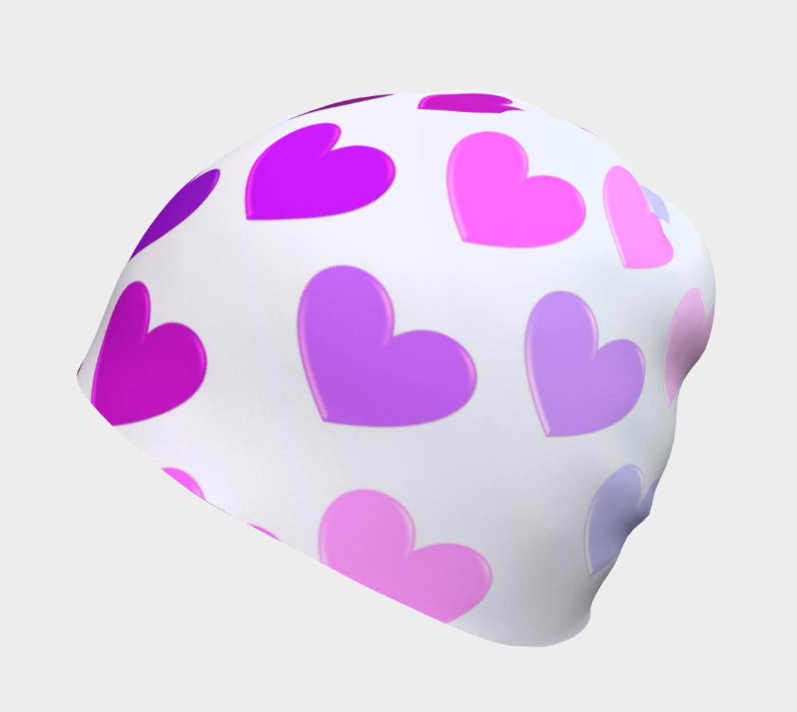 Purple Hearts Beanie preview #2