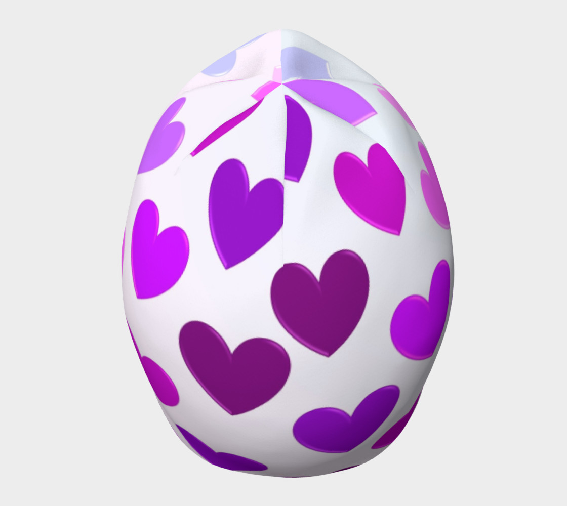 Purple Hearts Beanie preview #5