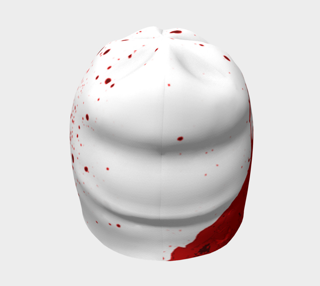 Blood Splatter One Beanie preview #4