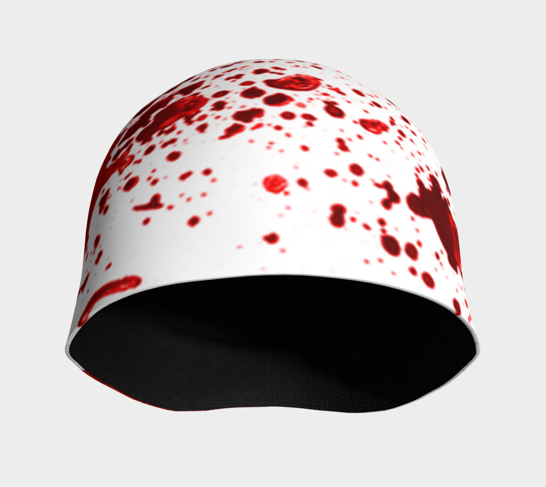 Blood Splatter One Beanie preview #3