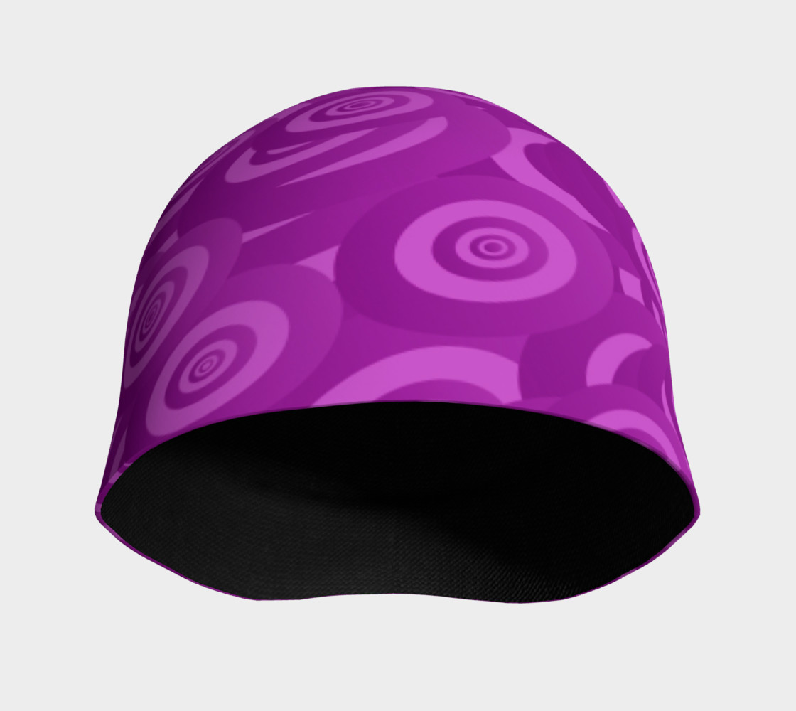 Purple Swirl Beanie preview #3