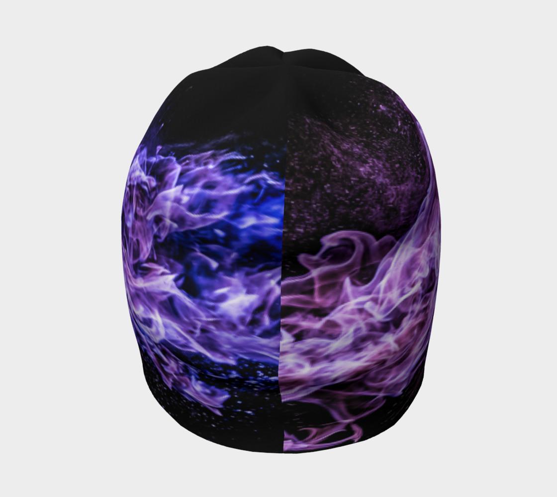 Purple Flame Beanie preview #4