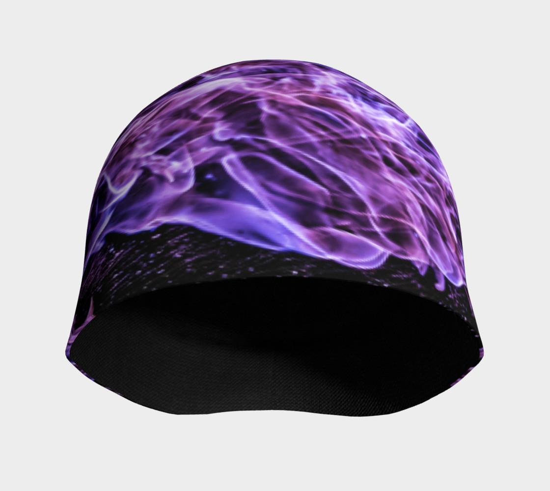 Purple Flame Beanie preview #3