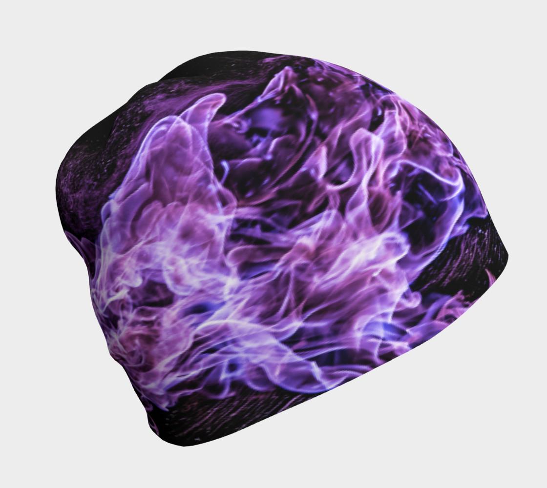 Purple Flame Beanie preview #1