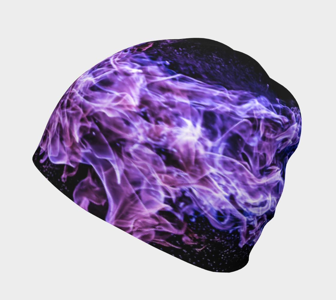 Purple Flame Beanie preview #2