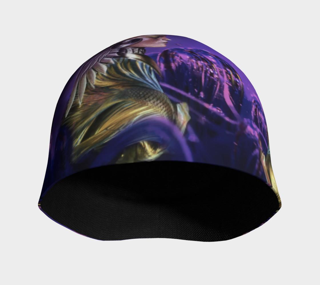 Purple Women Beanie preview #3