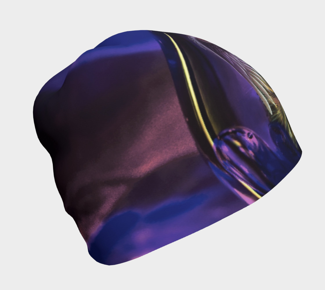 Purple Women Beanie preview #1