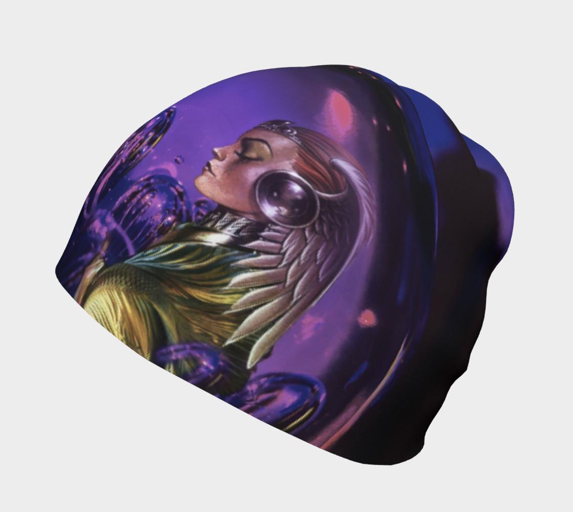 Purple Women Beanie preview #2
