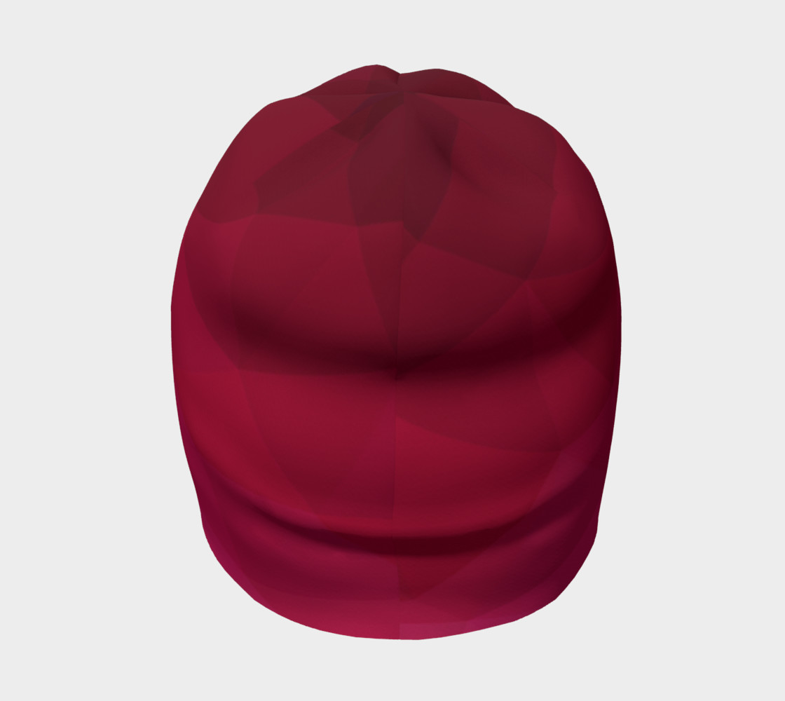 Pink Low Poly Beanie preview #4