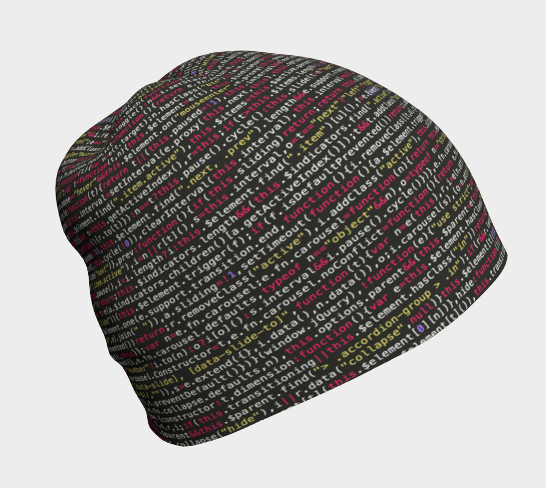 Coding Beanie preview #1