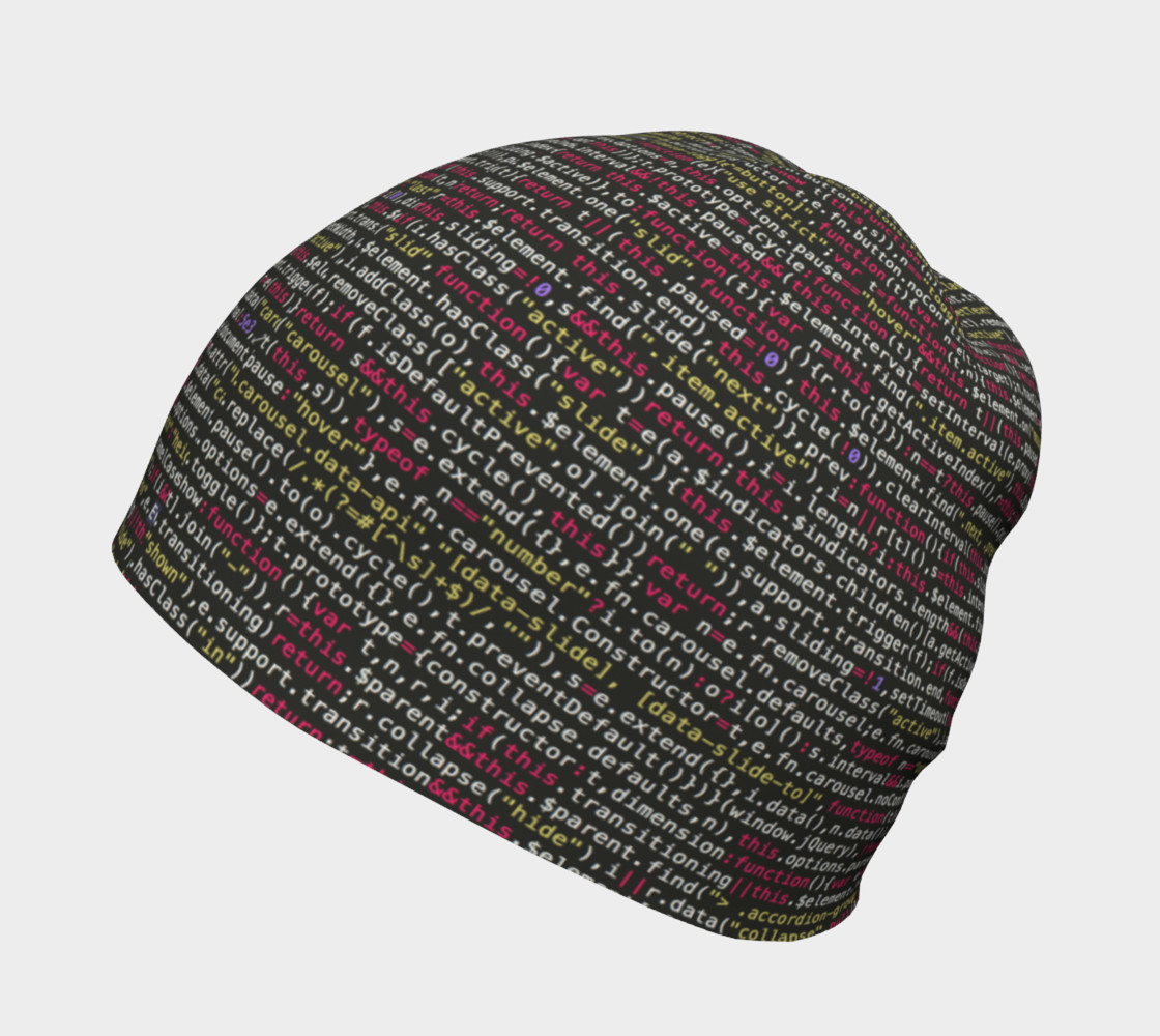 Coding Beanie preview #2
