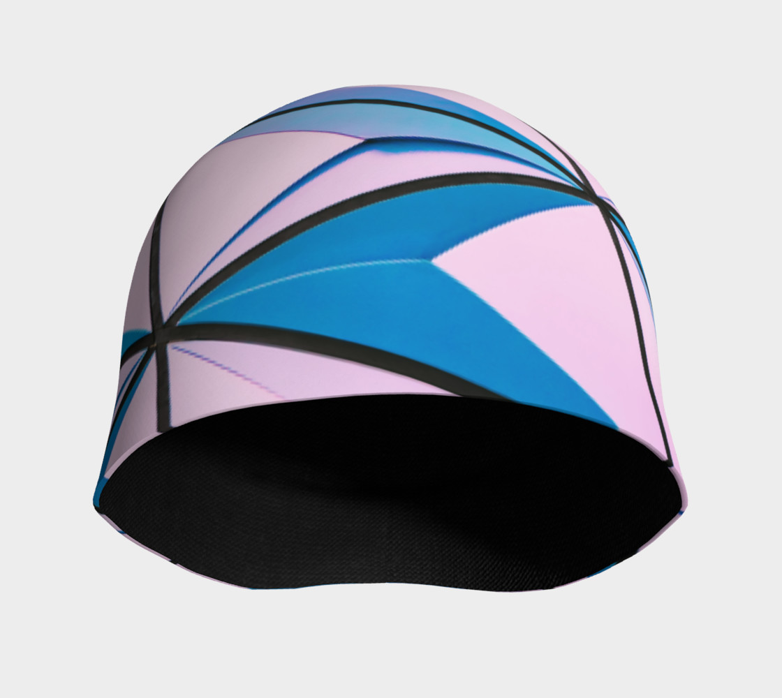 Cotton Candy Prism Beanie preview #3