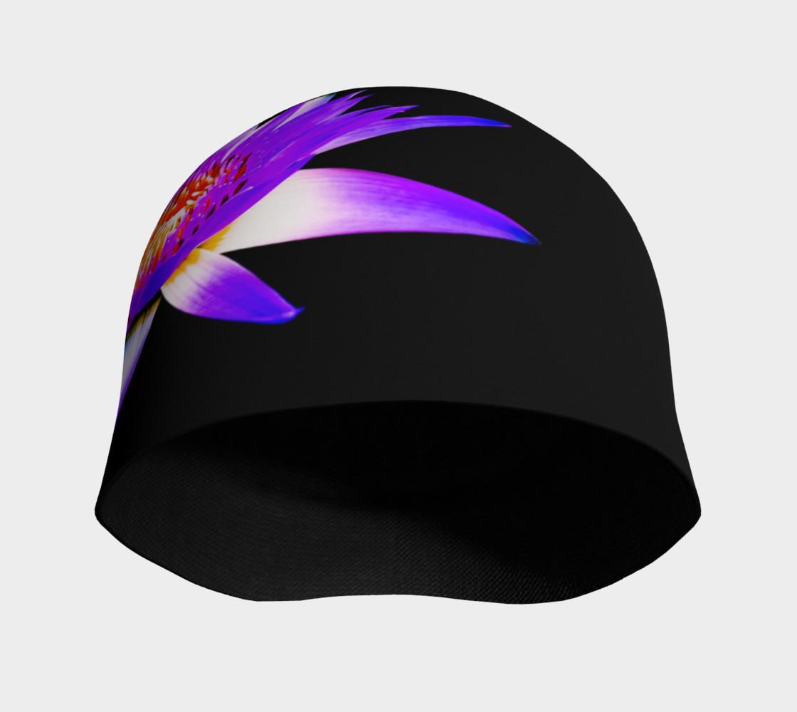 Purple Lotus Beanie preview #3