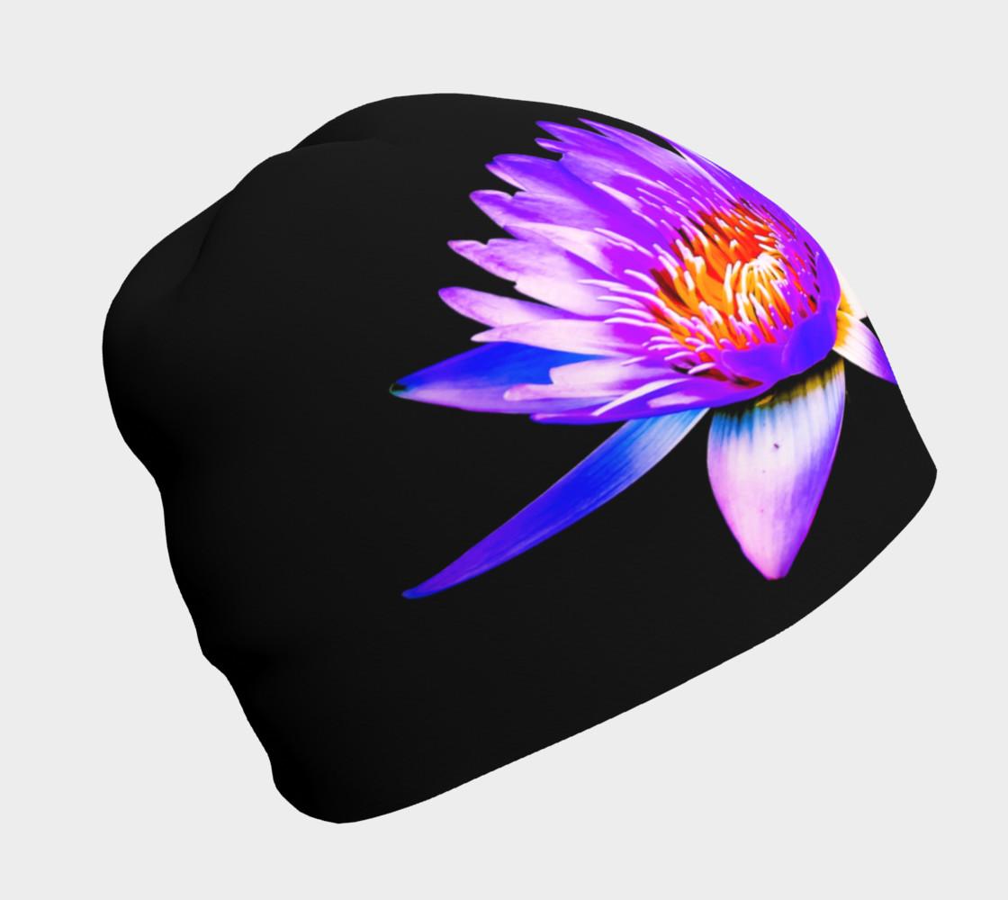 Purple Lotus Beanie preview #1