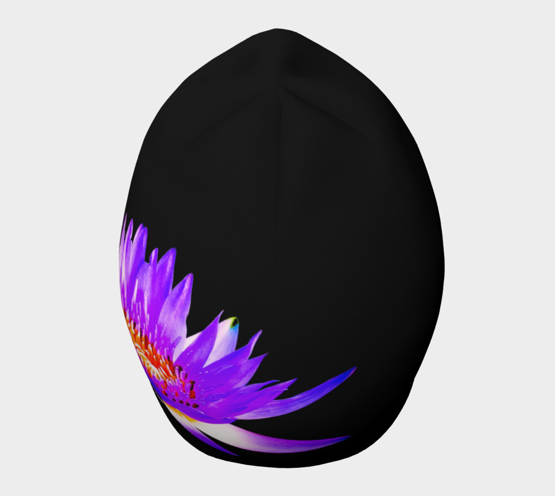 Purple Lotus Beanie preview #5
