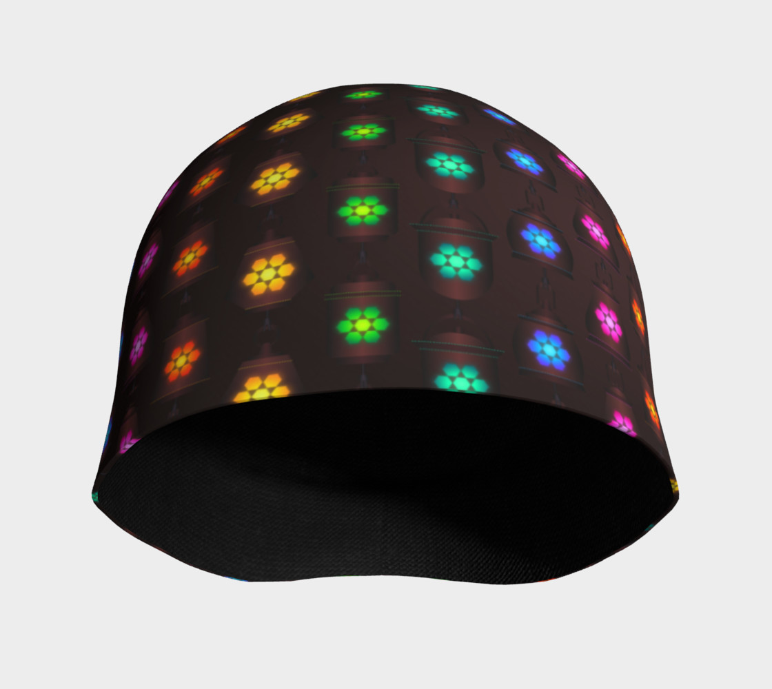 Rainbow Lanterns Beanie preview #3