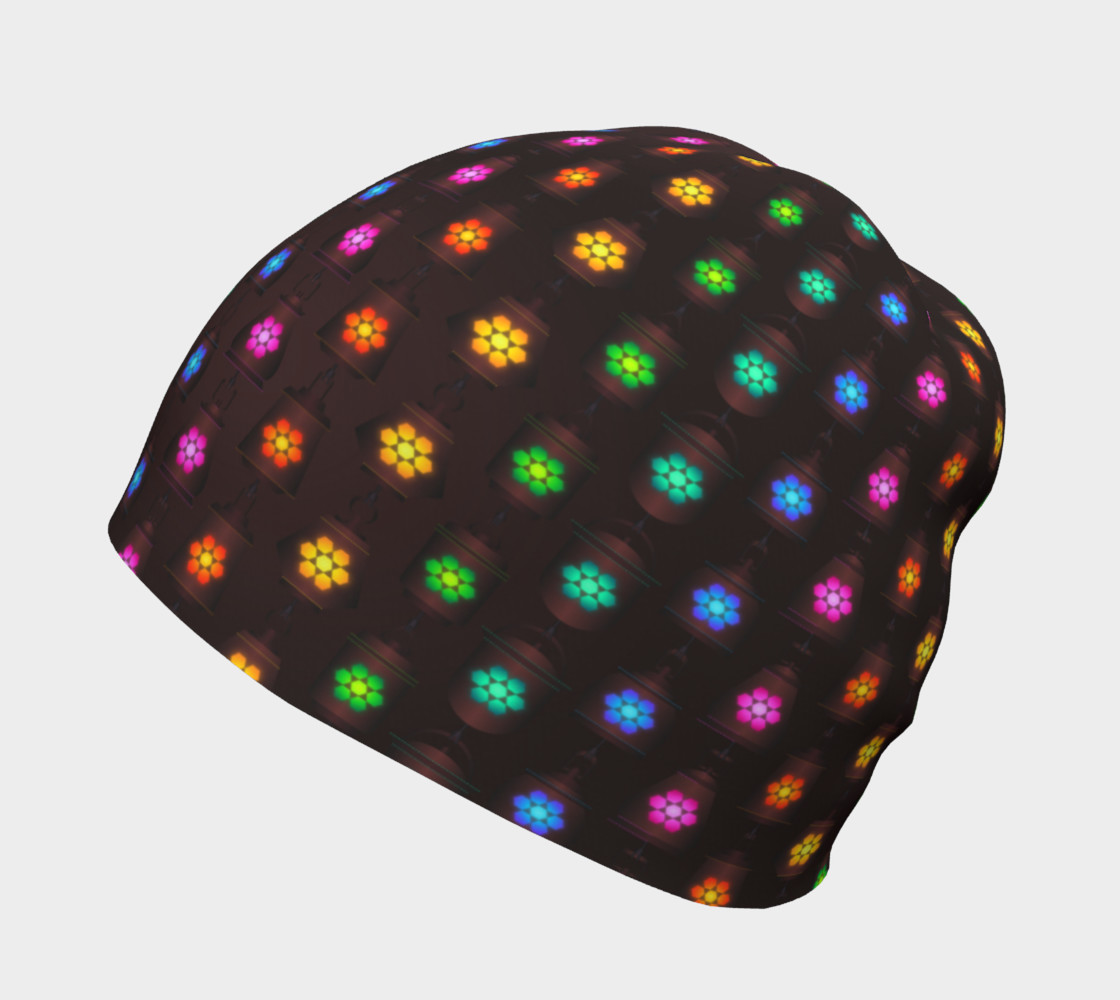 Rainbow Lanterns Beanie preview #2