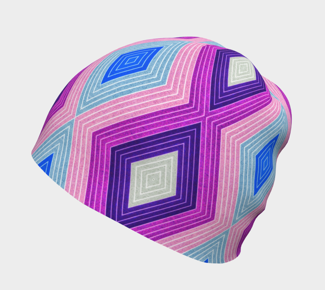 Geometric Candy Beanie preview #2