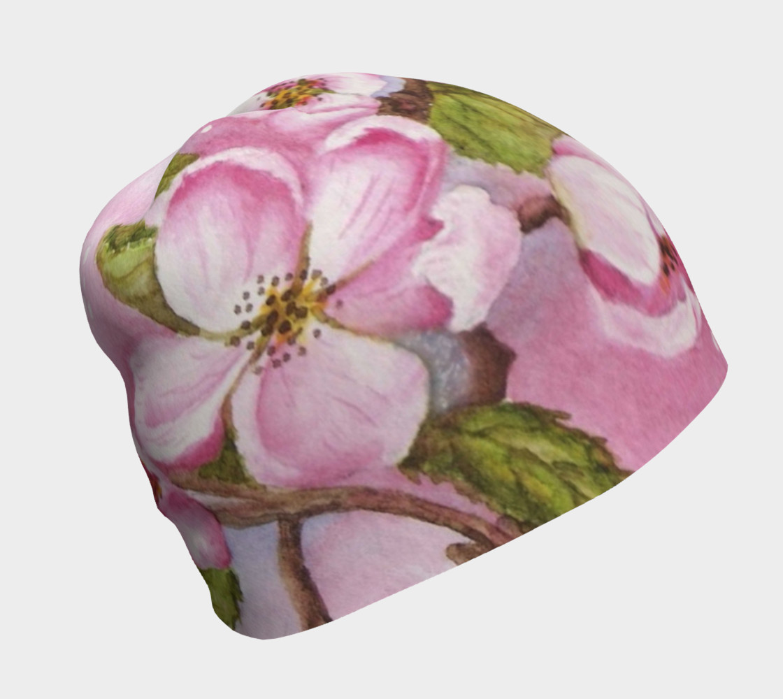 Watercolor Pink Apple Blossoms preview #1
