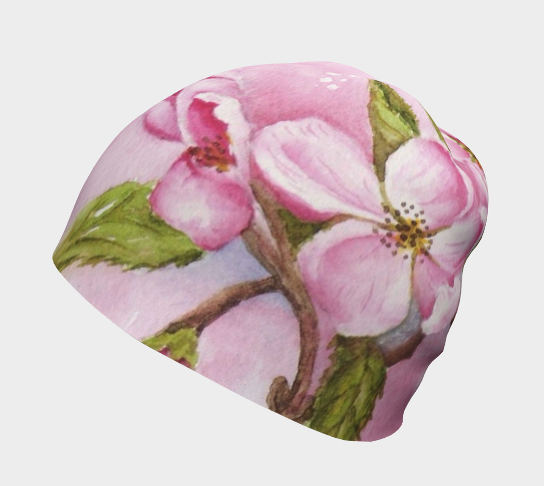 Watercolor Pink Apple Blossoms preview #2