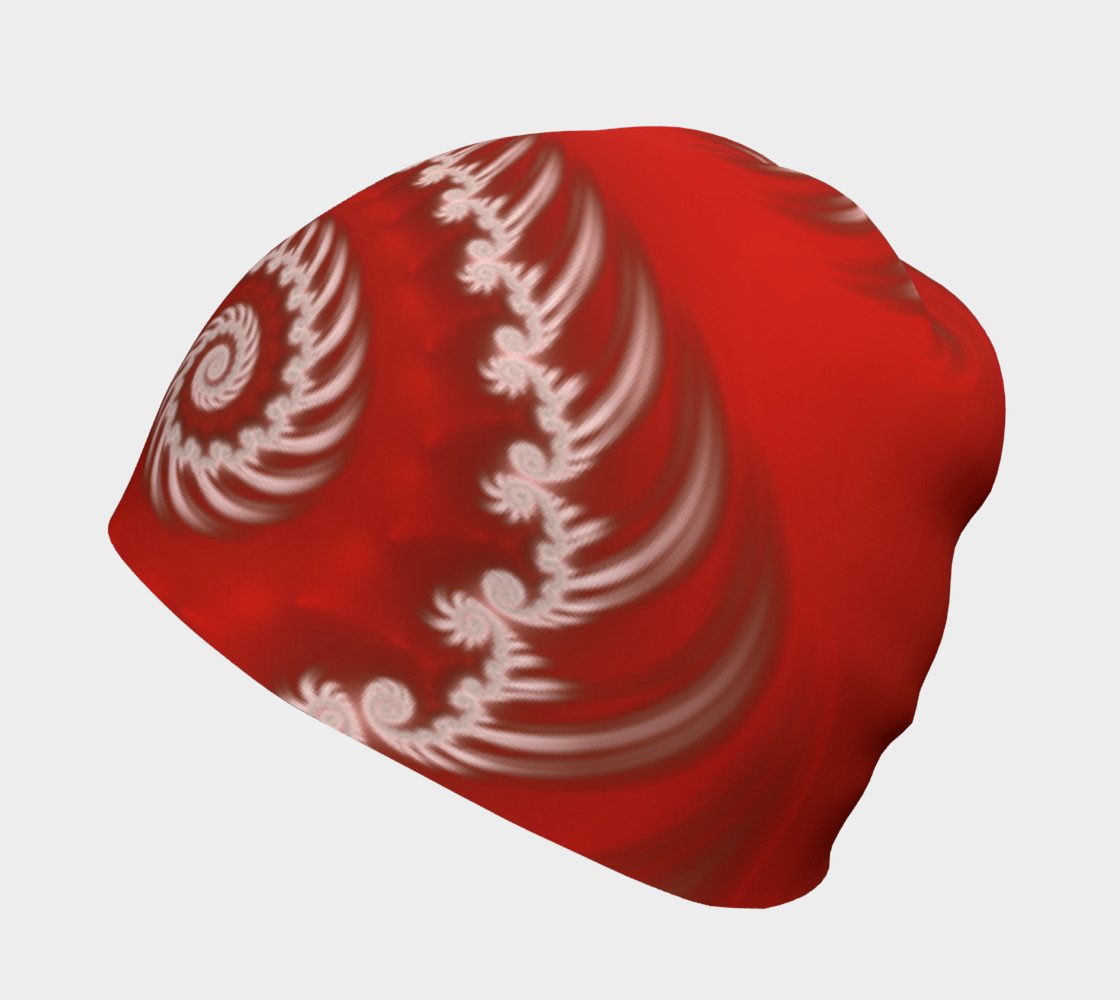 Candy Cane Swirl Beanie preview #2