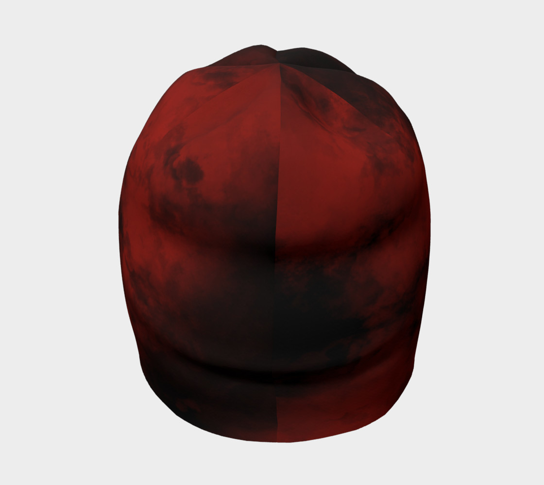 Red Galaxy Beanie preview #4
