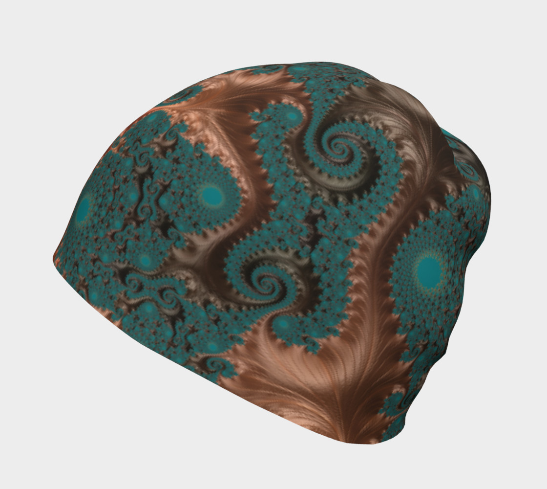 Copper Leaves Beanie preview #2