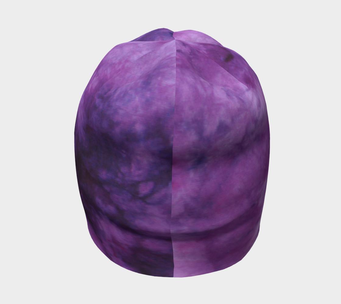 Purple Marble Beanie preview #4