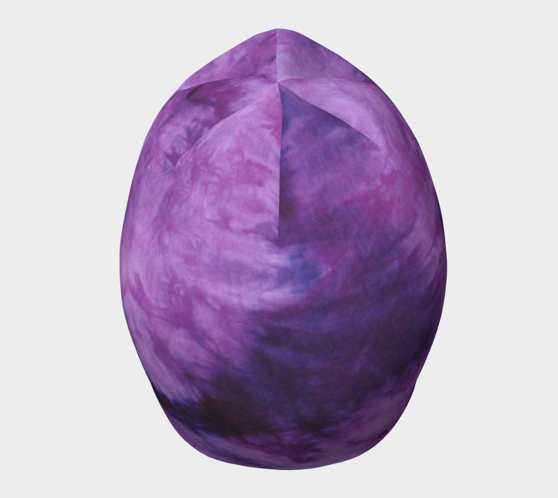 Purple Marble Beanie preview #5