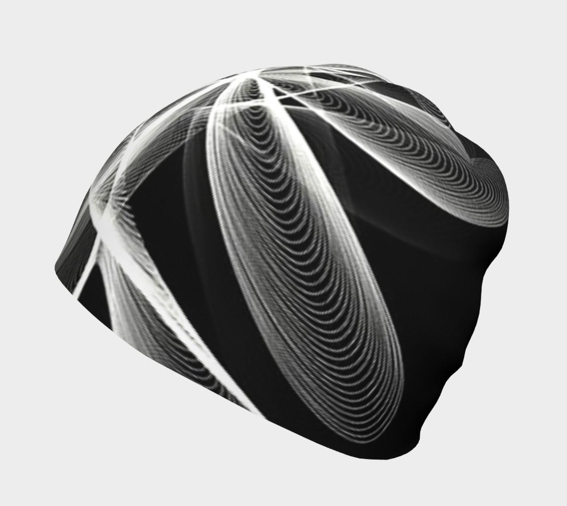 Aperçu de Fractale en noir et blanc #2