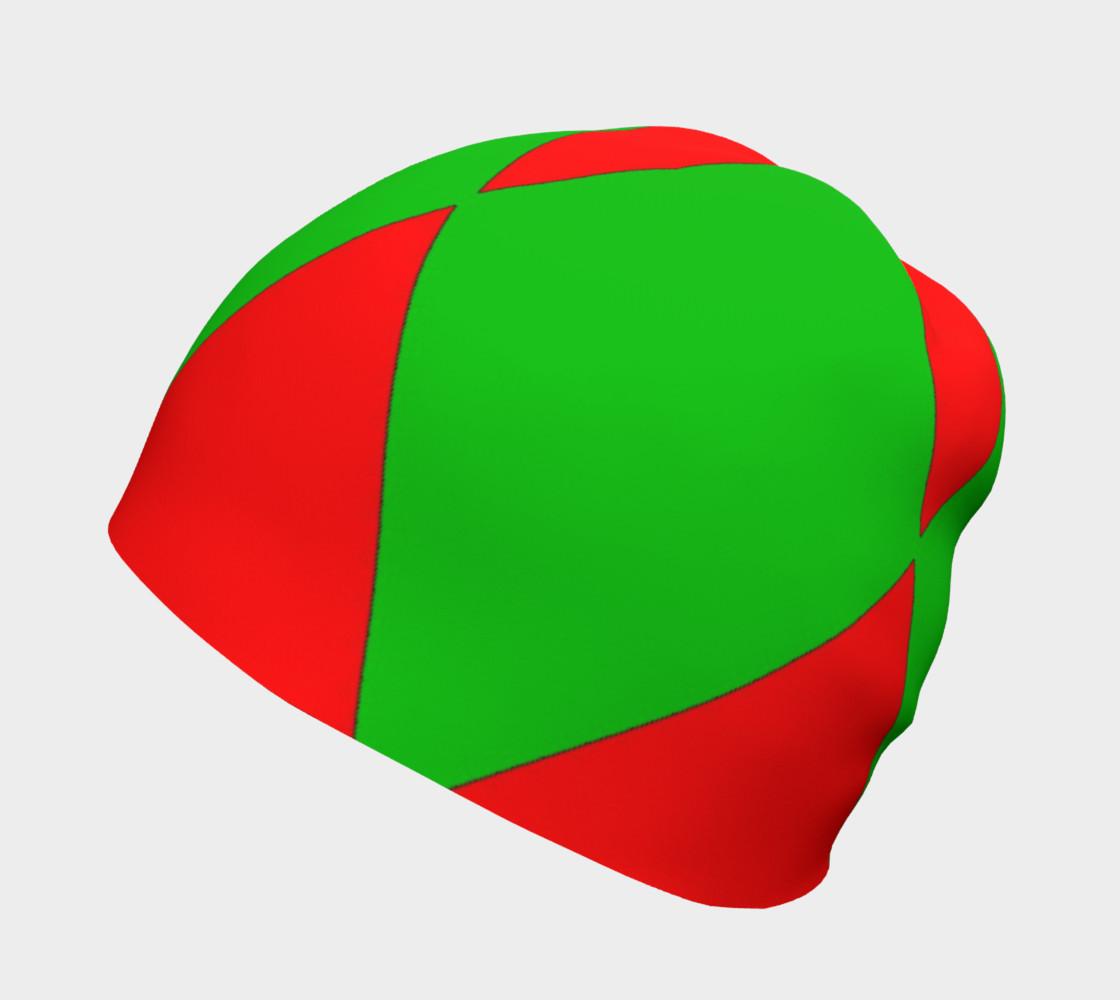 Christmas Harlequin Diamond Beanie preview #2