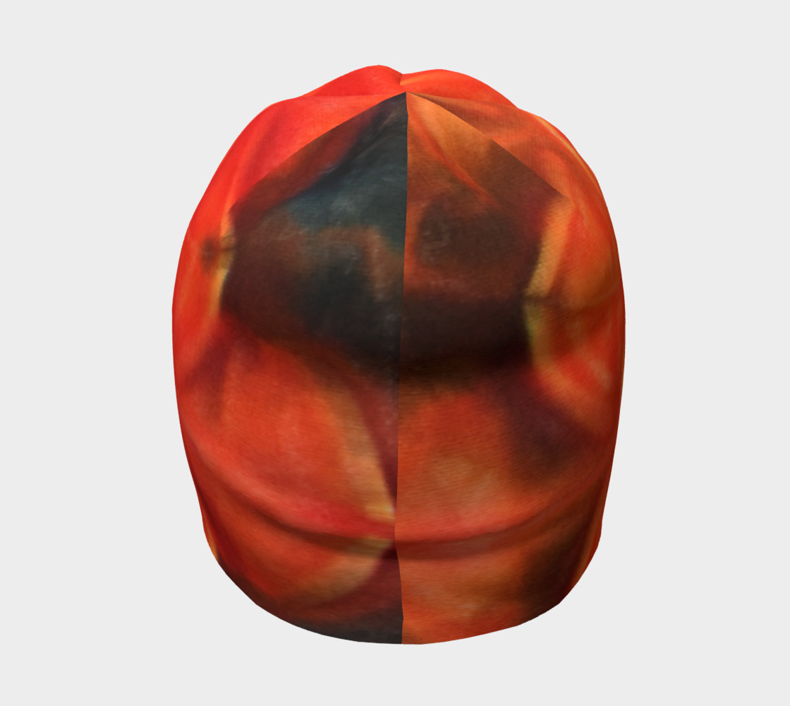 Orange Lotus Beanie preview #4