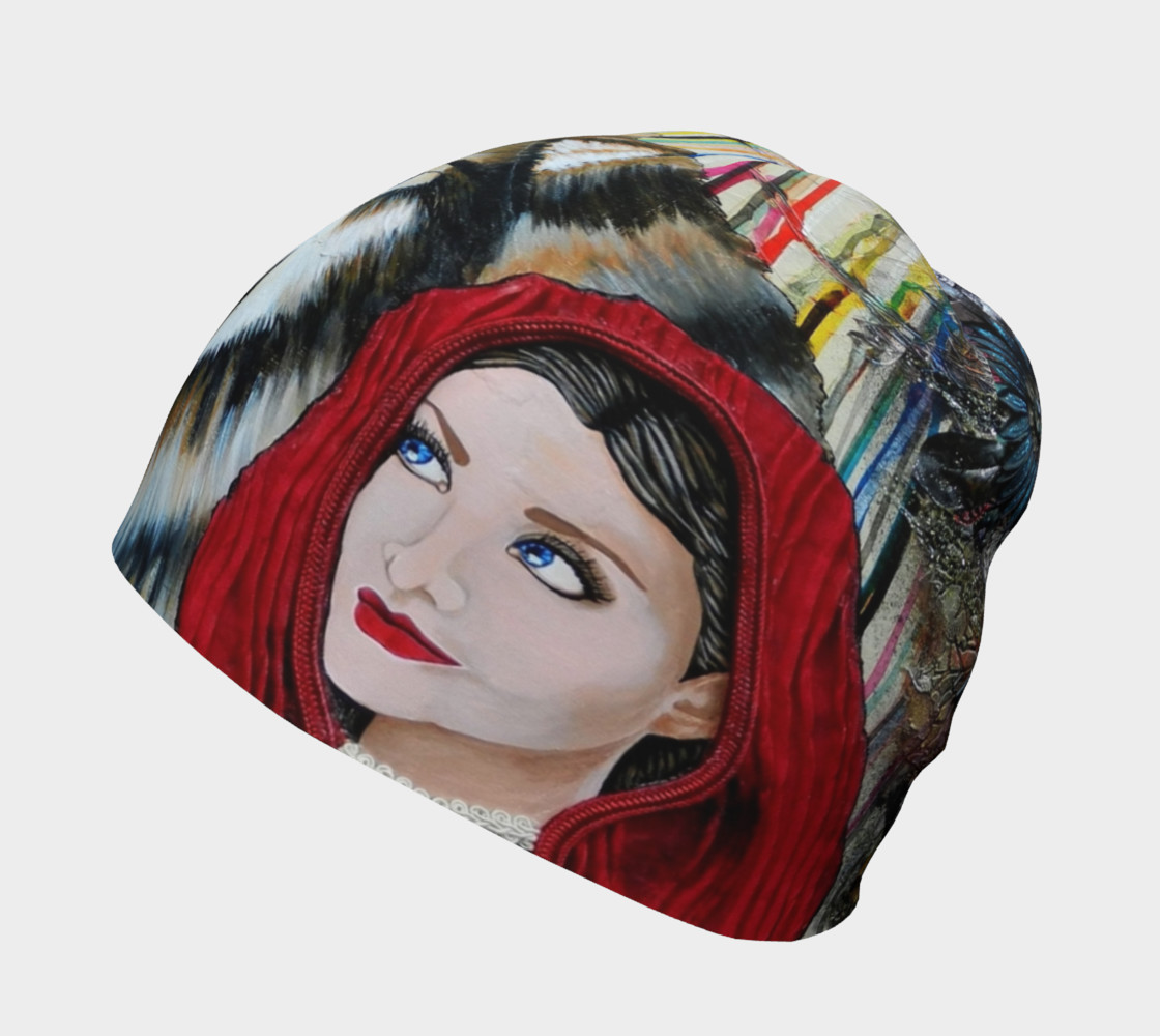 Red and the Big Mad Wolf Beanie preview #2