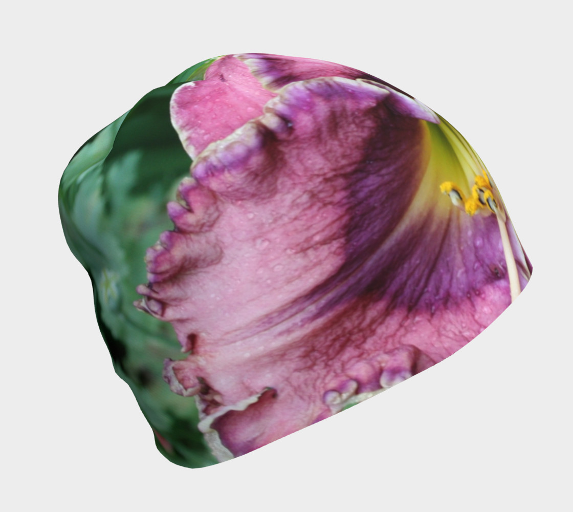 winter rainbow daylily and poppies  hat preview #1