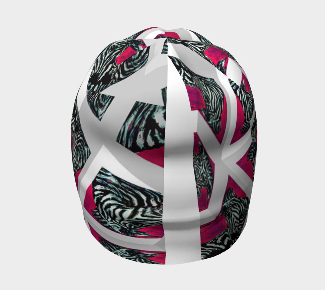 Abrica-Zebra Optical-Maze Beanie preview #4