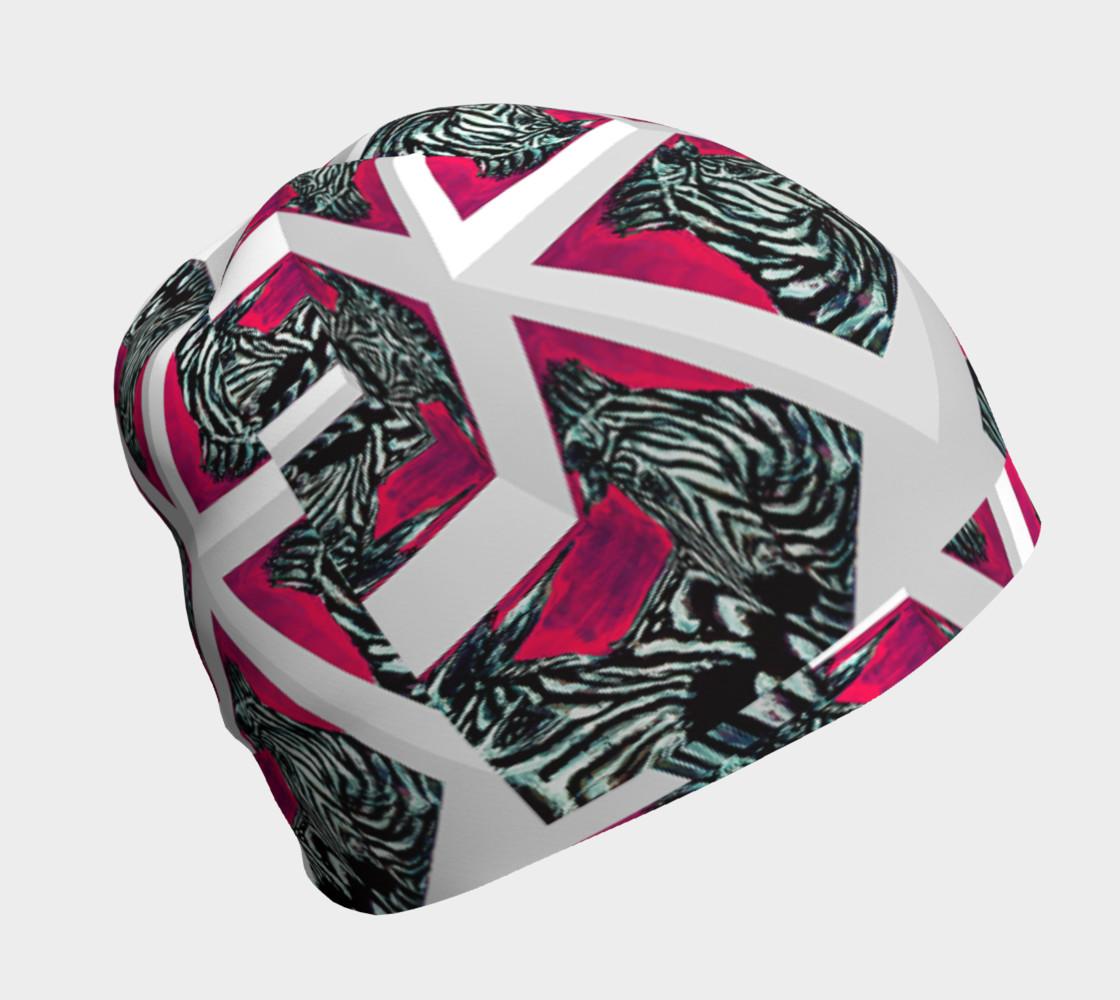 Abrica-Zebra Optical-Maze Beanie preview #1