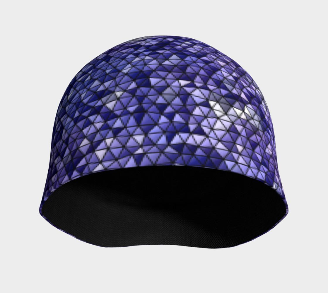 Purple Night Sky Triangle Mosaic preview #3