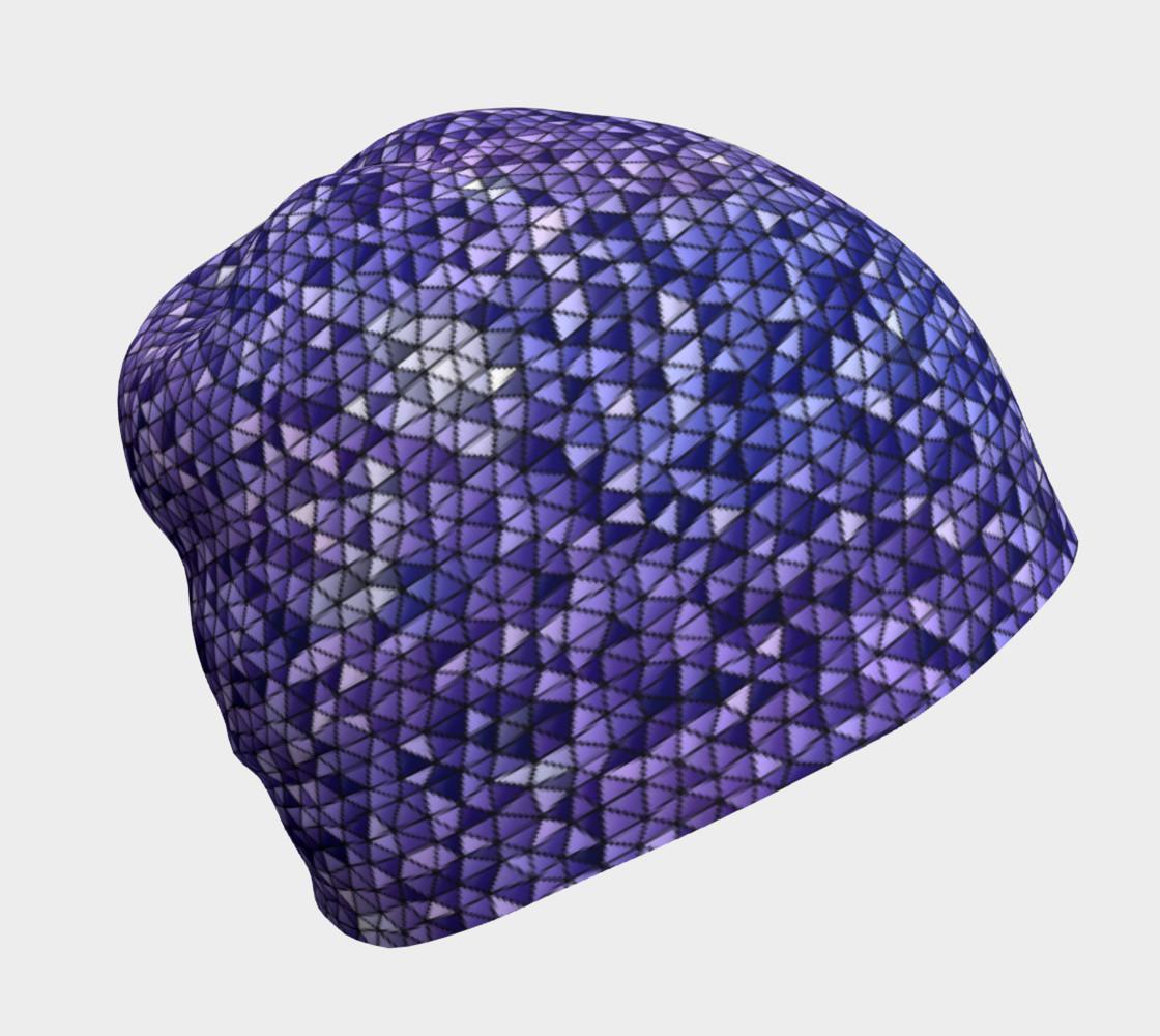 Purple Night Sky Triangle Mosaic preview #1