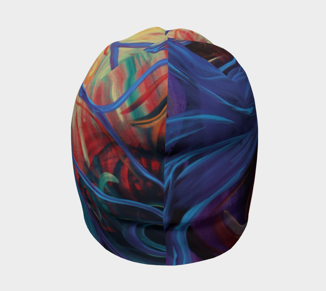 Colourful Tree of Life Beanie  preview #4