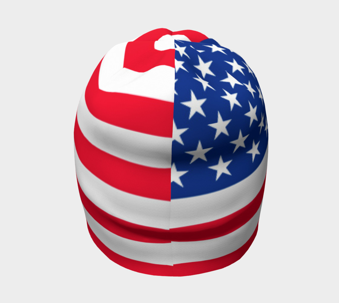 American Flag Beanie preview #4