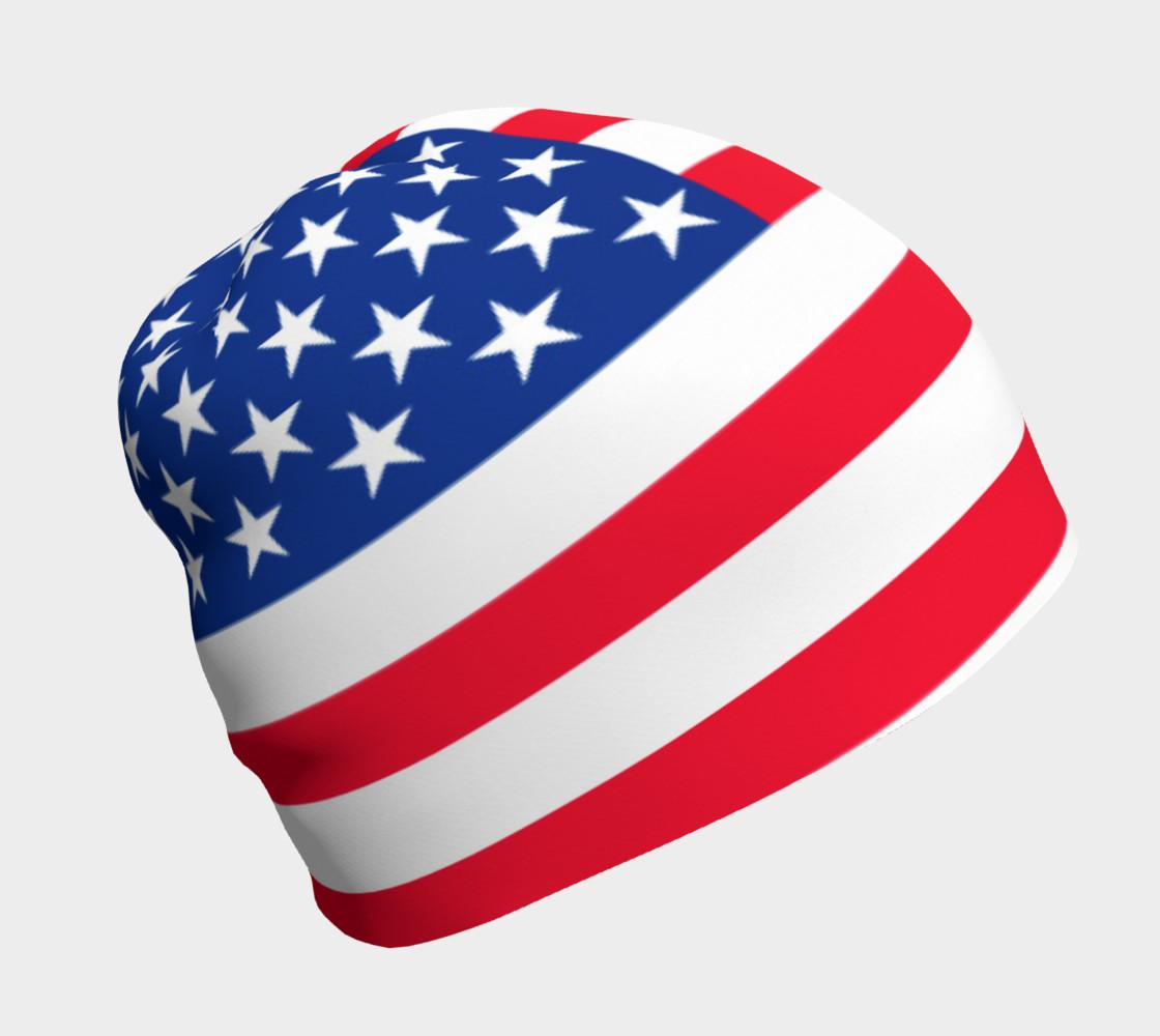 American Flag Beanie preview #1